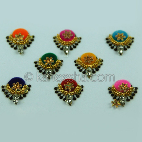 Fancy Bindis  Multi Color (Dots)