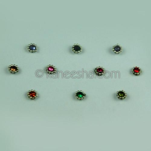 Bridal Multi Color Bindis (Dots)