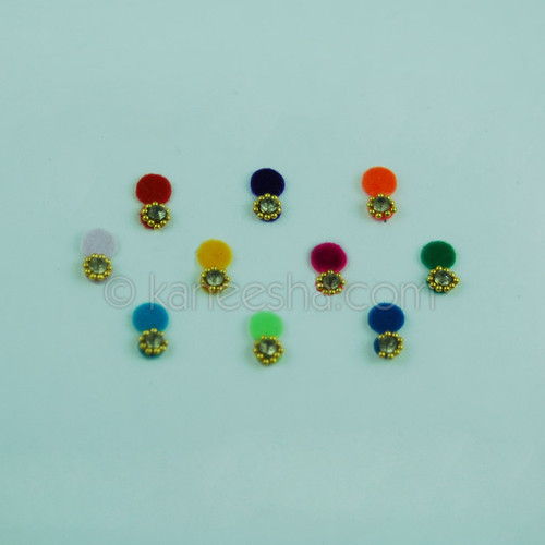 Traditional Multi Color Fancy Bindis (Dots)