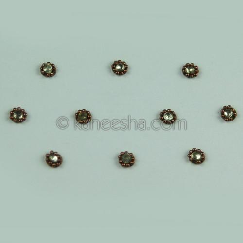 Delicate Multi Color Bindis (Dots)
