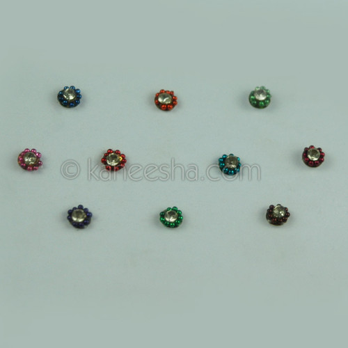 Bindis Delicate Multi Color (Dots)