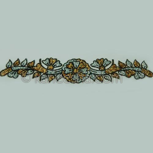Charming Flowery Tattoo