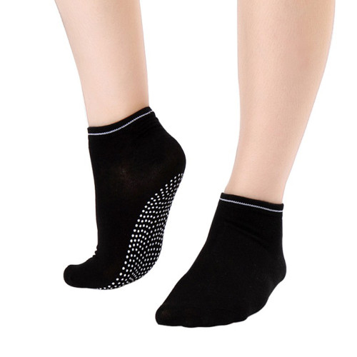 6 Pair Black Yoga Socks  Gripper Socks Ideal for Dance, Fitness No Slip, Non Skid Socks FREE Shipping.