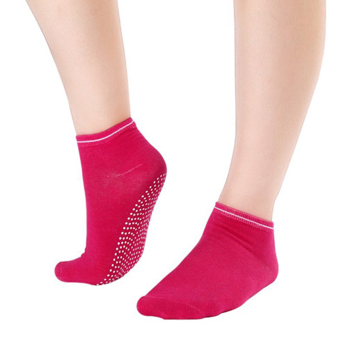 6 Pair Hot Pink Yoga Socks  Gripper Socks Ideal for Dance, Fitness No Slip, Non Skid Socks FREE Shipping.