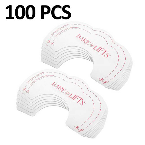 Breast Lift Tape 100 Pcs Breast Petals Invisible Adhesive Most Comfortable FREE Eyeglass Pouch by Kaneesha - FREE SHIPPING