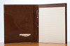 Sr. Padfolio Brown Calf