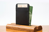 3 Pocket Card Case Black Calf