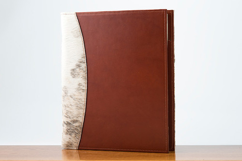 Sr. Padfolio Brown & White HOH with Chestnut