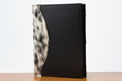 Jr. Padfolio Black & White HOH with Black