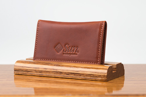Personal Card Holder Chestnut Bridle