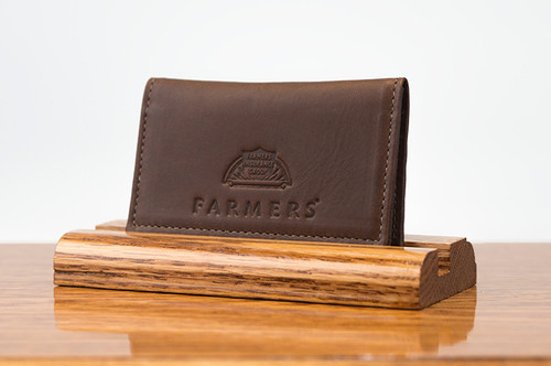 Personal Card Holder Brown Boomer