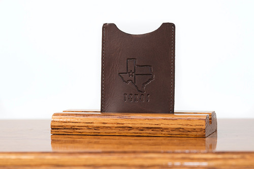 Magnetic Clip Wallet Brown Boomer