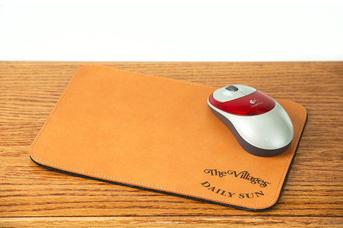 Mousepad Tan Bridle
