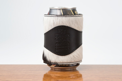 Beverage Wrap Black with Black & White HOH