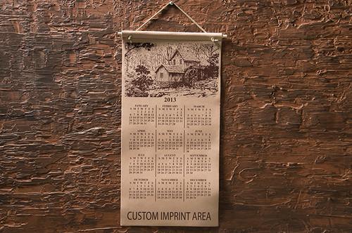 """Calendar 12"""" W x 25"""" H"""