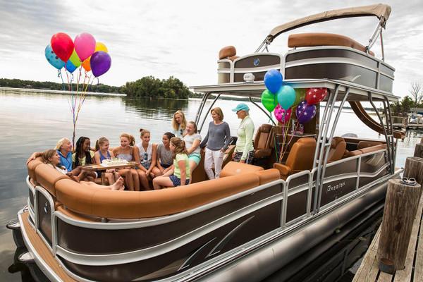 Double Decker Ponton Boat Rental