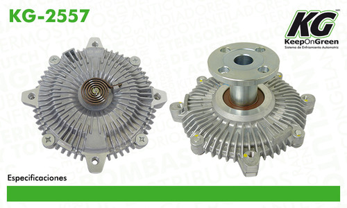 FAN CLUTCH  FC GM ASTRO L4 2.5L 1985; FORD AEROSTAR