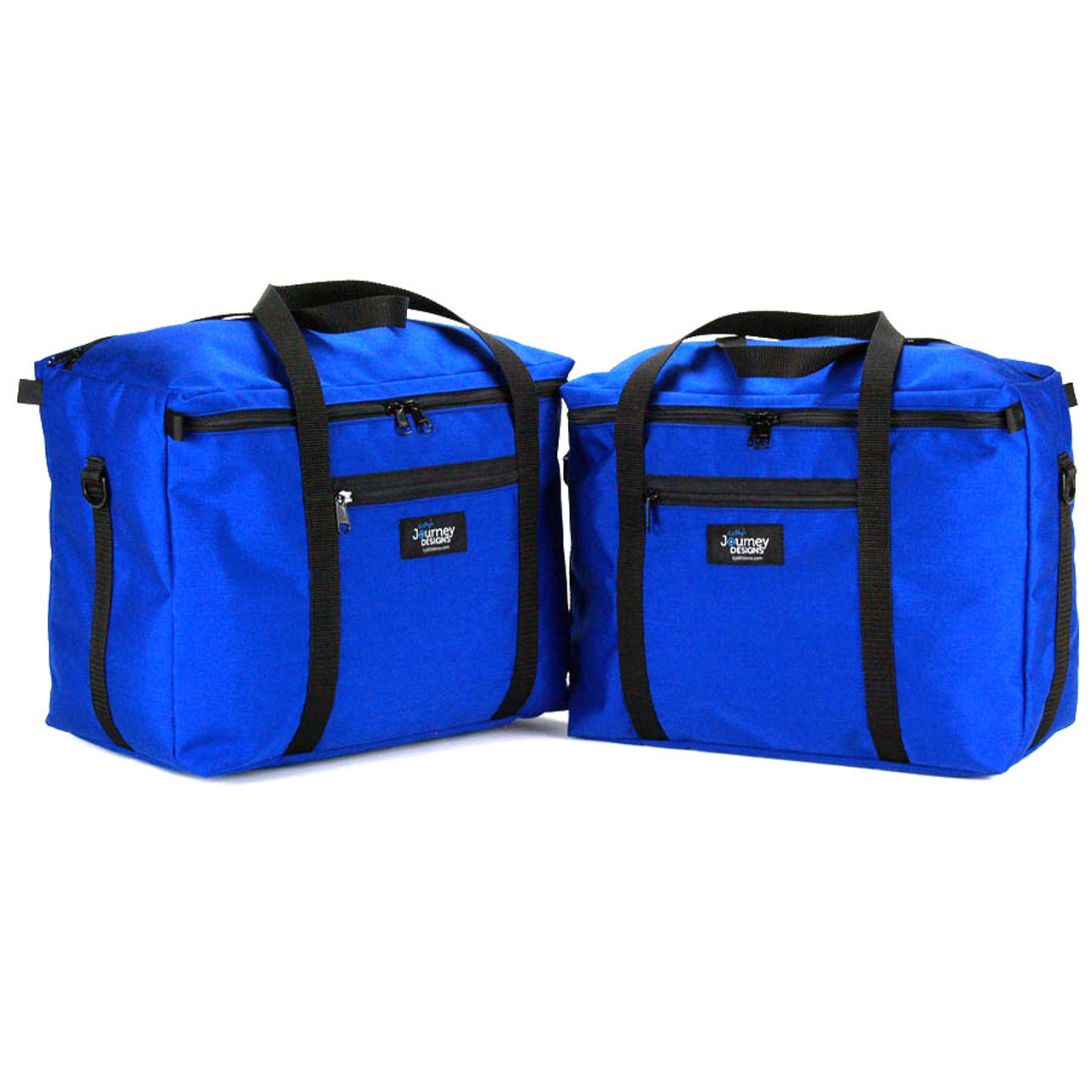 BMW R1200GS VARIO Pannier liner bags inner bags expandable in Blue colour
