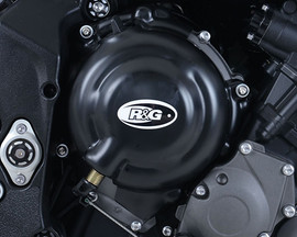 R&G Engine Case Cover Kit (2pc) Triumph Street Triple '13-'16, Street Triple RX '15-'16 (KEC0077BK)