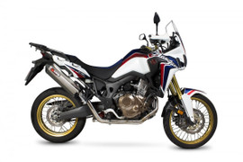 Scorpion Exhaust for Honda CRF1000L Africa Twin '16- (Serket Style - Full System)