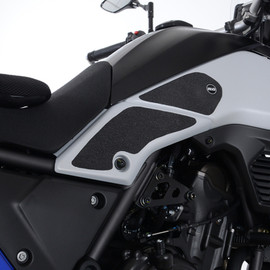 R&G Tank Traction Grips for Yamaha Tenere 700 '19- (EZRG934BL)