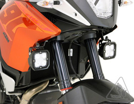 DENALI Auxiliary Light Mounts for KTM 1190 Adventure / R '13-'16 & 1090 Adventure R '17-'19 (DENLAH.04.10100)