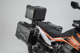 SW-MOTECH TRAX Adventure Luggage Set for KTM 790 Adventure/R '19- (Silver)
