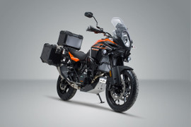 SW-MOTECH TRAX Adventure Luggage Set for KTM 1290 Adventure R/S '19- (Silver) (ADV.04.333.75001/S)