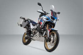 SW-MOTECH TRAX ADV aluminium side case system for HONDA CRF1100 L Africa Twin Adventure Sports SD09 (19-20) (Silver) (KFT.01.942.70000/S)