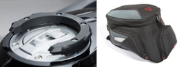SW-MOTECH Quick Lock Tank Ring and EVO City Tank Bag for BMW 1250GS