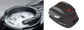 SW-MOTECH  Quick Lock Tank Ring and EVO Daypack Tank Bag for BMW 1250GS