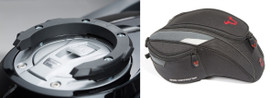 SW-MOTECH  Quick Lock Tank Ring and EVO Engage Tank Bag for BMW 1250GS