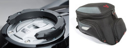 Bags Connection Quick Lock Tank Ring and EVO City Tank Bag For BMW R1200GSA (BC.TR.CTB.BMWR1200GSA)