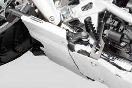 SW-MOTECH Engine Guard Extension for Centerstand for BMW R1250GS/GSA (Silver) (MSS.07.781.10301/S)