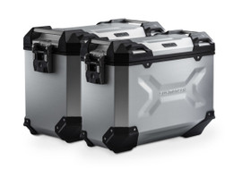 SW-MOTECH TRAX ADV Aluminium Case System for HONDA CRF1100L Africa Twin (Silver)