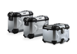 SW-MOTECH TRAX ADV Luggage Set for Ducati Multistrada (Silver) (ADV.22.892.75000/S)