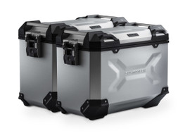 SW-MOTECH TRAX ADV Side Case System for BMW R1250RS (Silver) (KFT.07.573.70100/S)
