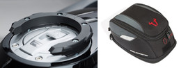 SW-MOTECH Quick Lock Tank Ring and EVO Daypack Tank Bag For BMW R1250RT (BC.TR.DTB.BMWR1250RT)