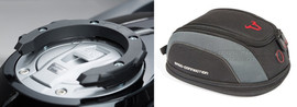 SW-MOTECH Quick Lock Tank Ring and EVO Micro Tank Bag For Honda CB650R (BC.TR.MTB.HondaCB650R)
