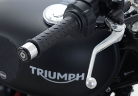 R&G Bar End Sliders Triumph Street Twin '16- & Triumph Speed Twin 1200 '19- (BE0104BK)