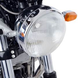 R&G Headlight Shield for Ducati Scrambler 1100 '18-, Royal Enfield Interceptor 650 '19- & Continental GT 650 '19-