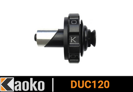 Kaoko Throttle Stabilizer for Ducati Multistrada MTS 1200 (2013) (With Ducati endure Hand guards Part 96793510B)