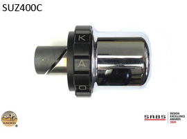 Kaoko Throttle Stabilizer For The Suzuki AN650 Burgman Deluxe/Executive (With Chromed Bar Weights)