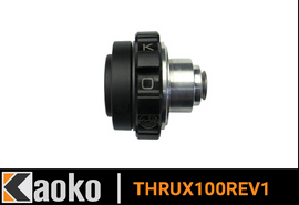 Kaoko Throttle Stabilizer For The Triumph Thruxton 1200R '16- W/OEM Bar End Mirrors & Tri Mirrors
