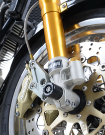 R&G Fork Protectors for the Norton Commando 961 Sport (FP0183BK)
