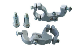 BARKBUSTERS Handle Bar Clamp Kit For Tapred Bars