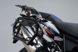SW-Motech PRO Side Carriers Off-Road Edition Honda CRF1000L Africa Twin (15-17) Black