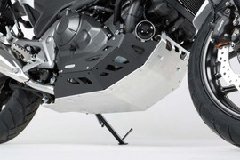 SW-Motech Engine Guard Black/Silver Honda NC700 / NC750 without DCT (MSS.01.151.10000)
