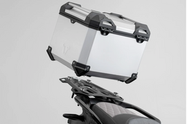 SW-Motech Trax ADV Top Case System BMW F750/850GS (17-) For plastic rack Silver (GPT.07.897.70100/S)
