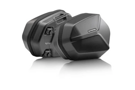 SW-Motech AERO ABS side case system ABS/600D HCF Polyester Kawasaki Versys 650 (15-) (KFT.08.518.60100/B)